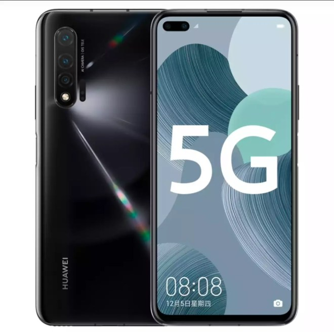 Huawei Nova 6 5G Black, Huawei Nova 6 5G all colors