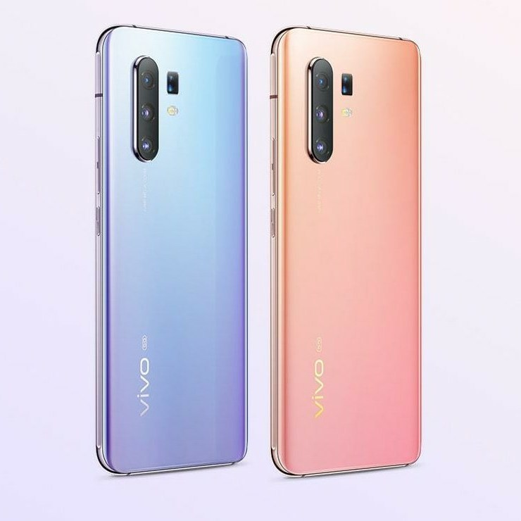 Vivo X30 Pro Blue-purple gradient