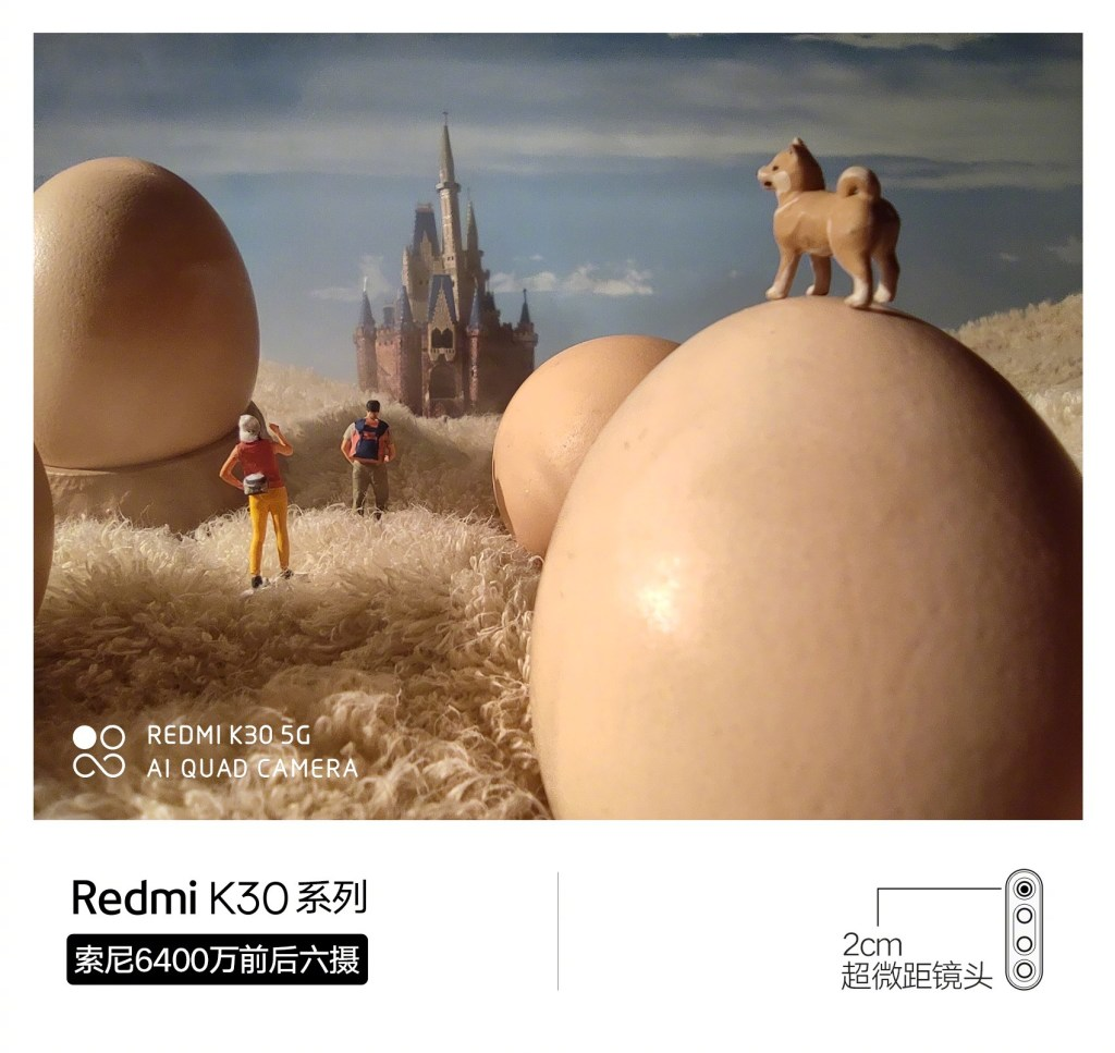 Redmi K30 2cm Macro camera sample