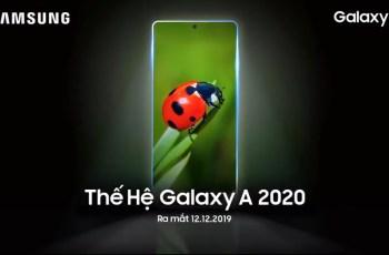 Samsung Galaxy A Series 2020 Release Date