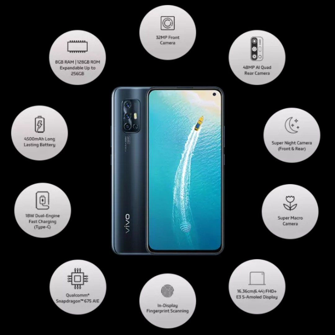 Vivo V17 Full Specification