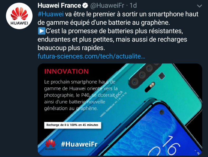 Huawei P40 and P40 Pro with Graphene Battery, huawei p40 Official rendering