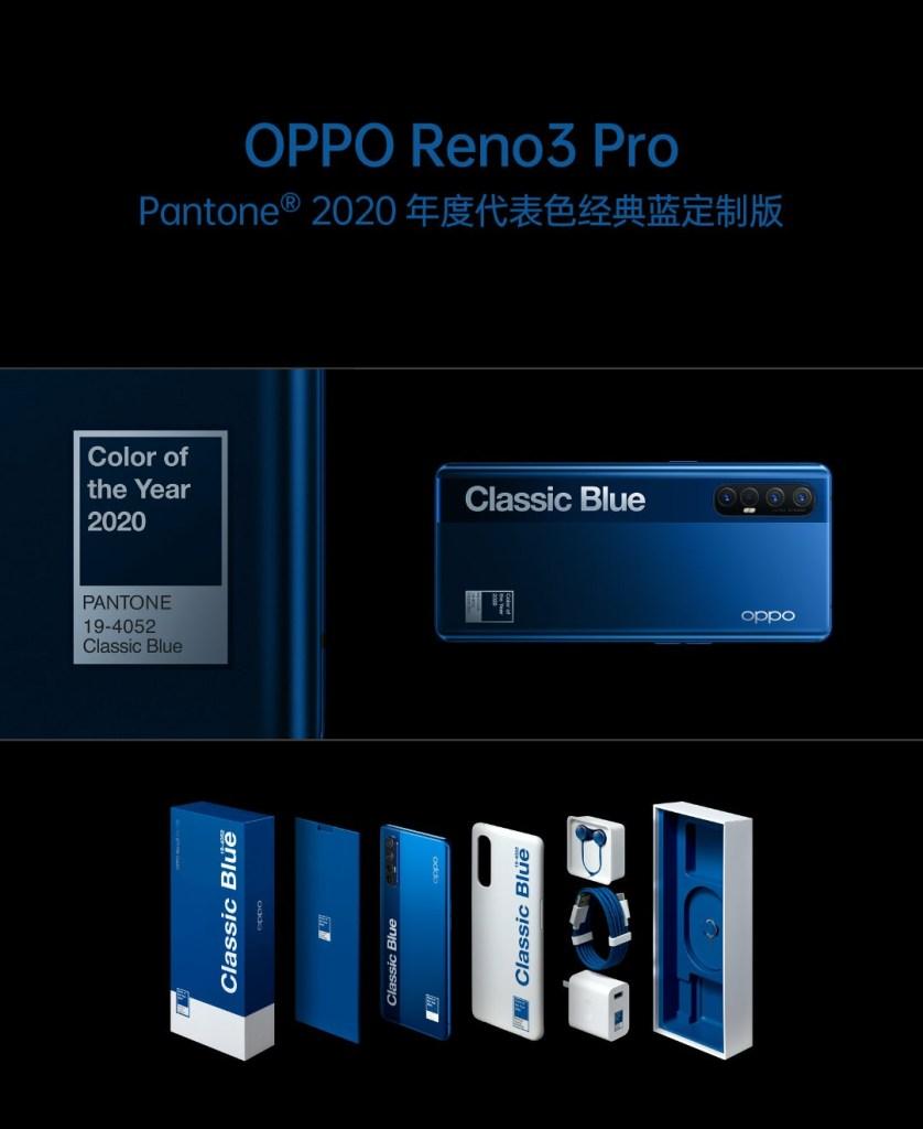 Oppo Reno3 Pro 5G Classic Blue