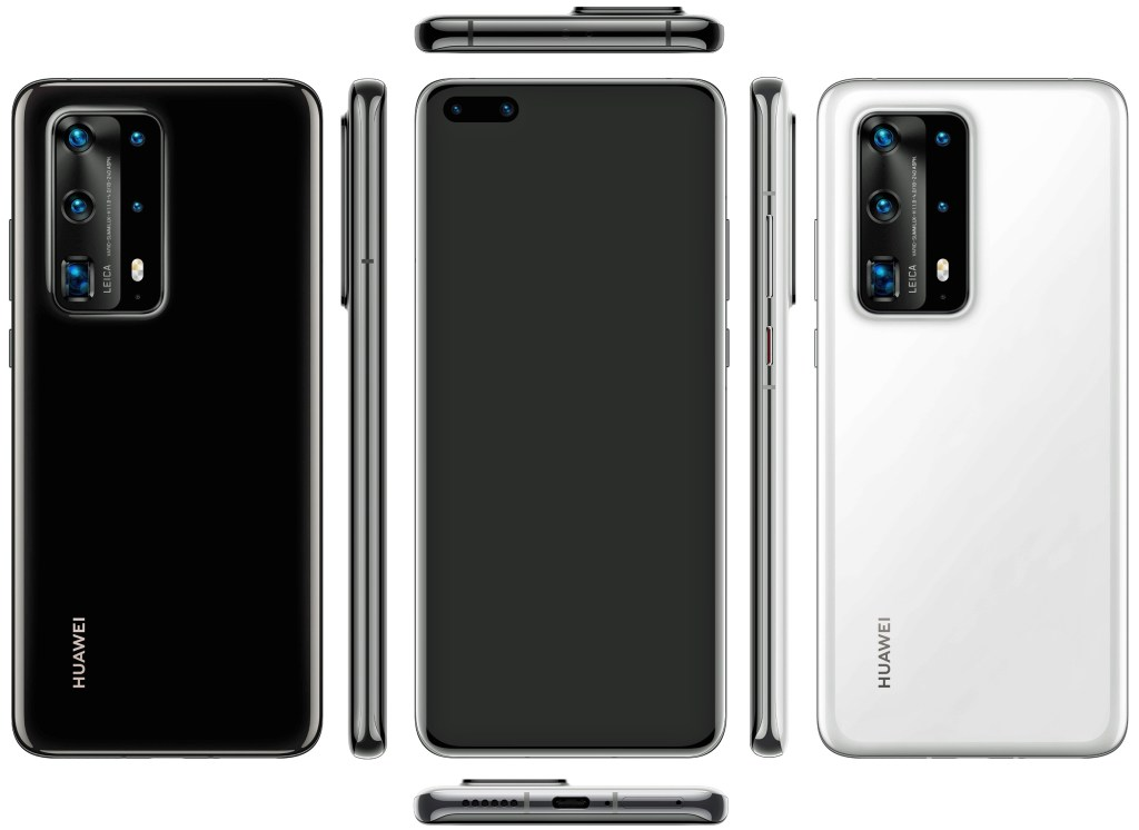 Huawei P40 Pro Official rendering