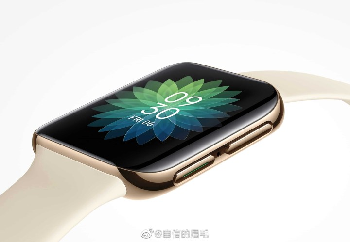 Oppo Smart Watch Official Rendering