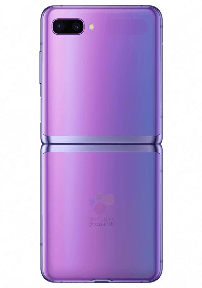 Samsung Galaxy Z Flip Rendering