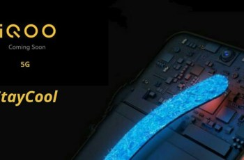 iQOO 5G Phone with Water Drop Display