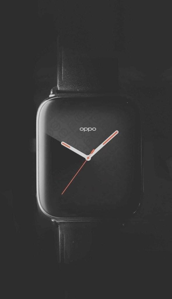 Oppo Smart Watch Appearance