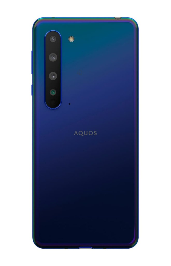 Sharp Aquos R5G Blue