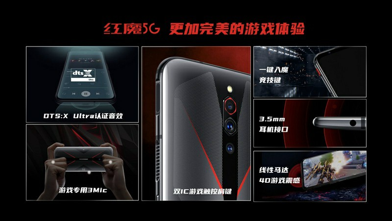 Nubia Red Magic 5G Sound