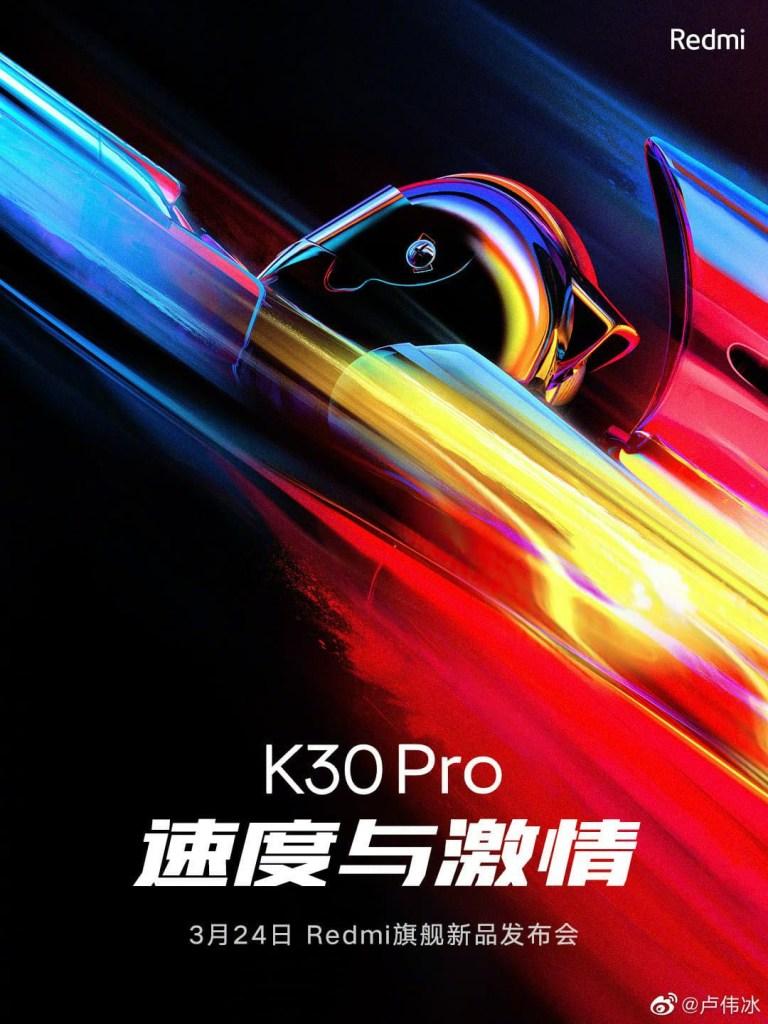 Redmi K30 Pro Release Date