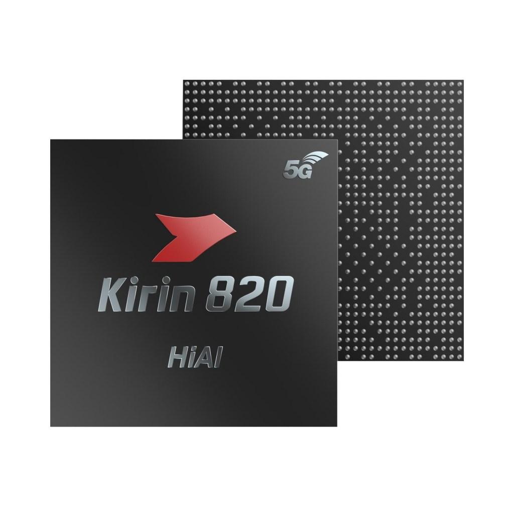 Kirin 820 5G Chip Key Features