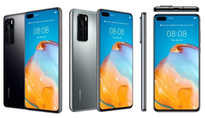 Huawei P40 Rendering