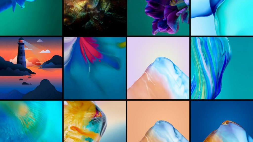 Huawei P40 system wallpapers