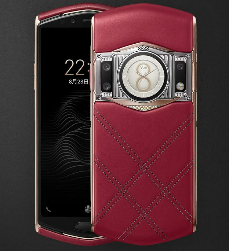 8848 M6 Danxia red leather version