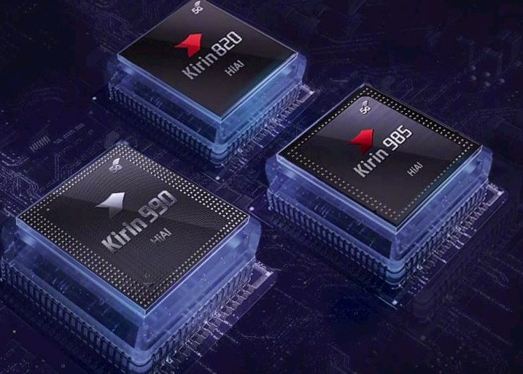 Huawei Kirin 820, 985 and 990 all 5G chips together