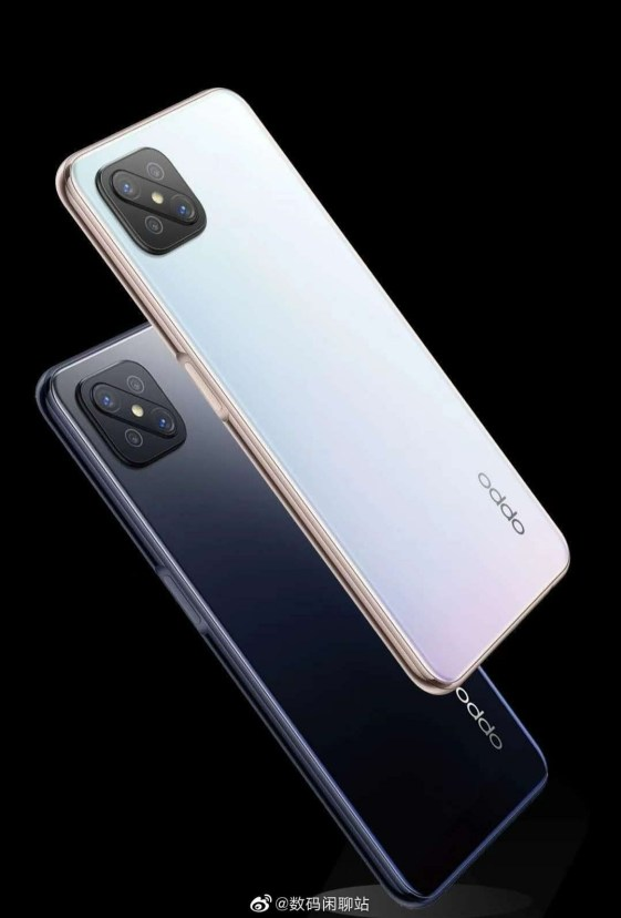 Oppo A92S Official Rendering