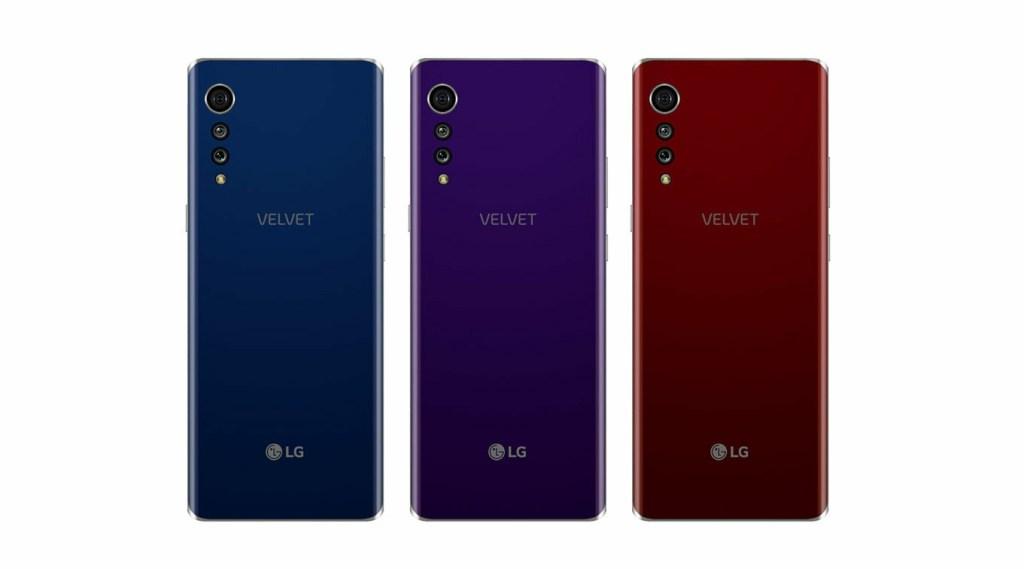 LG Velvet Rendering