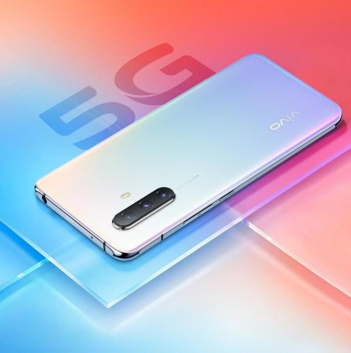 Vivo X30 5G rainbow colour