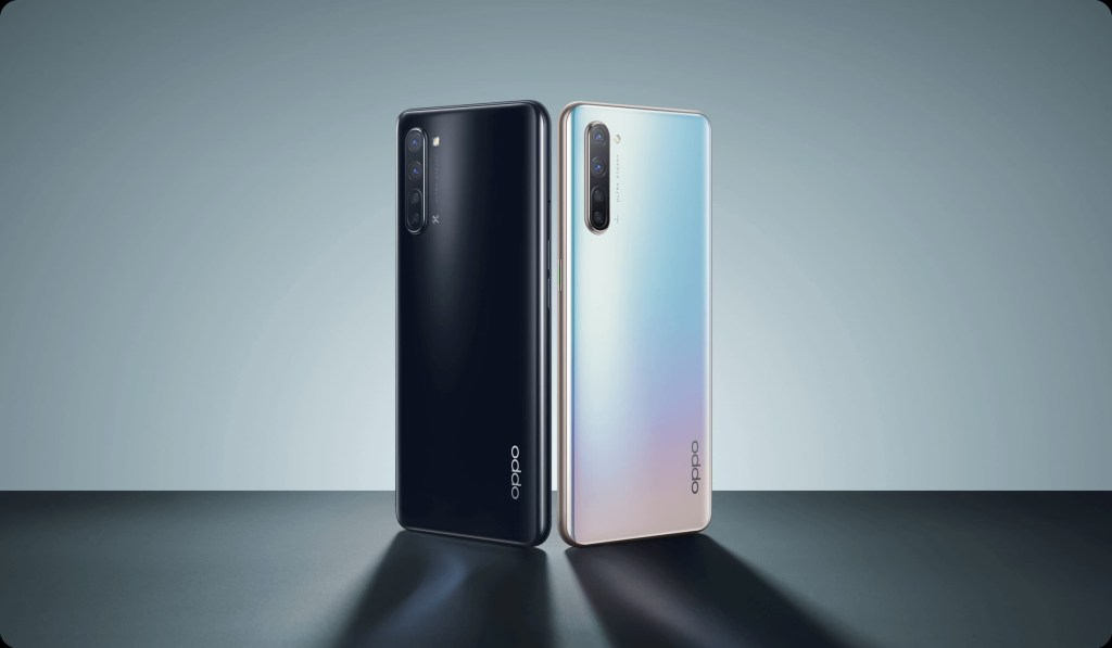Oppo Find X2 Lite MoonLight Black and Pearl White
