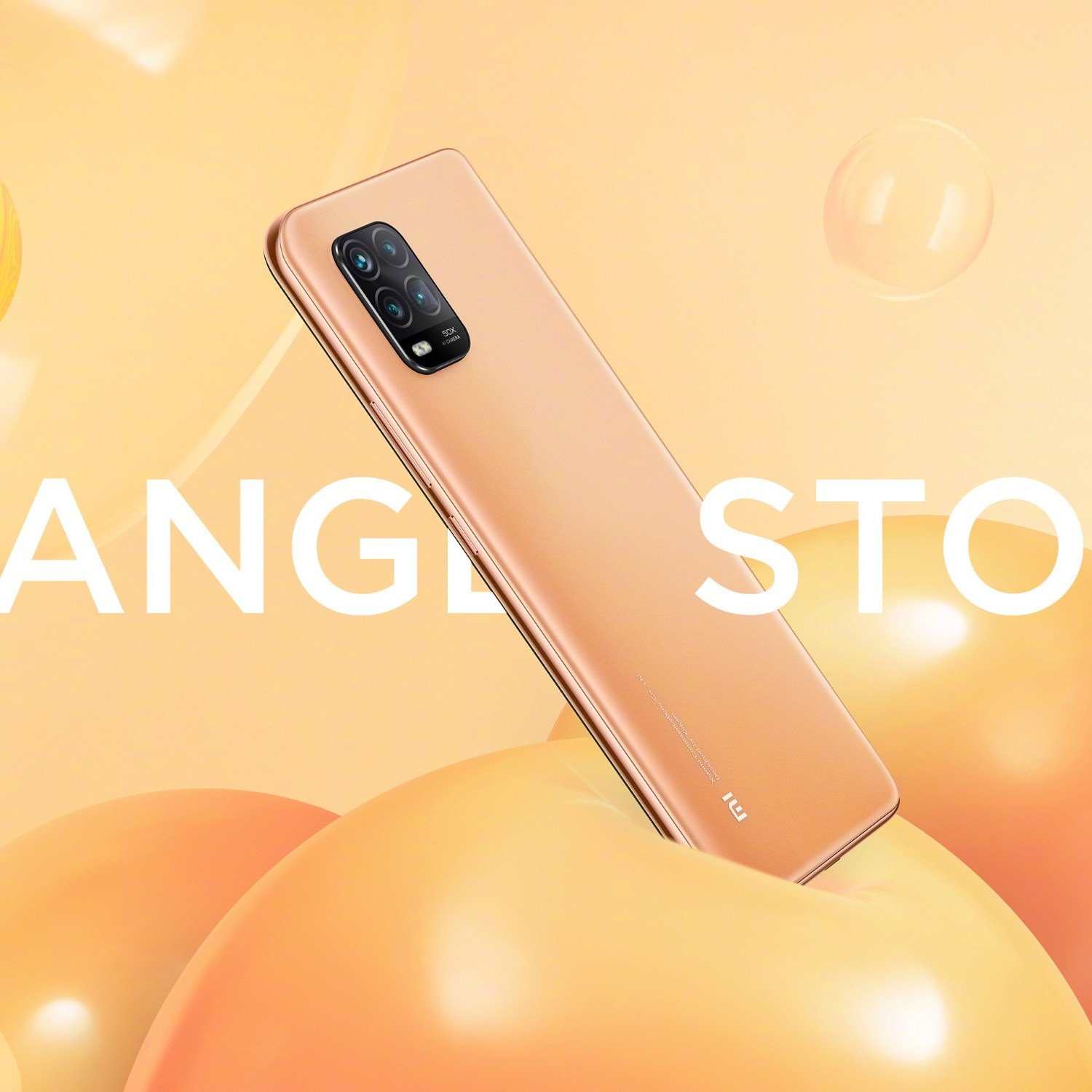 Xiaomi 10 Youth Edition Orange Storm