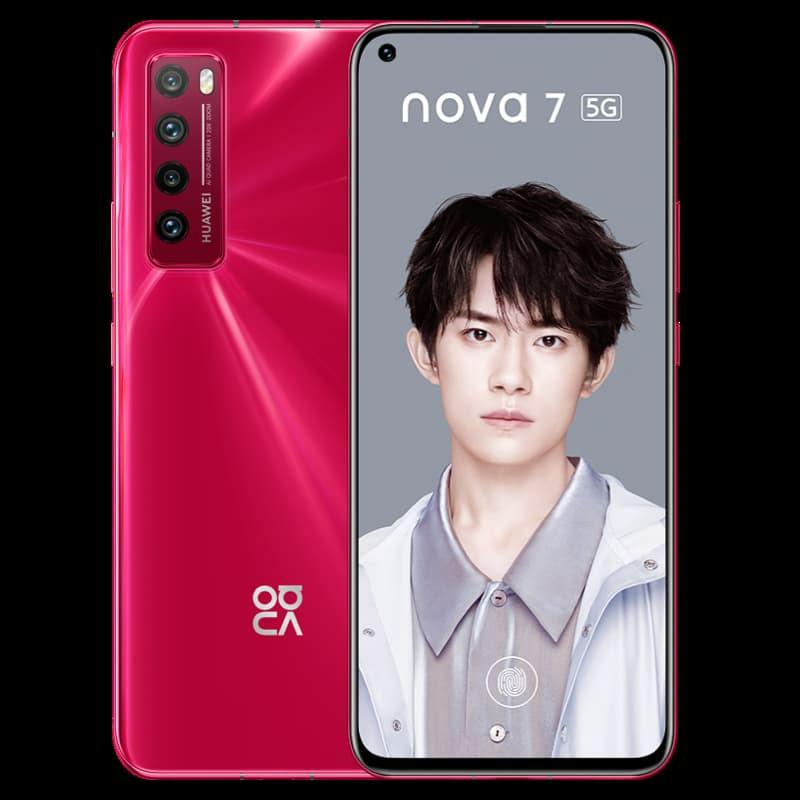 Huawei Nova 7 Red