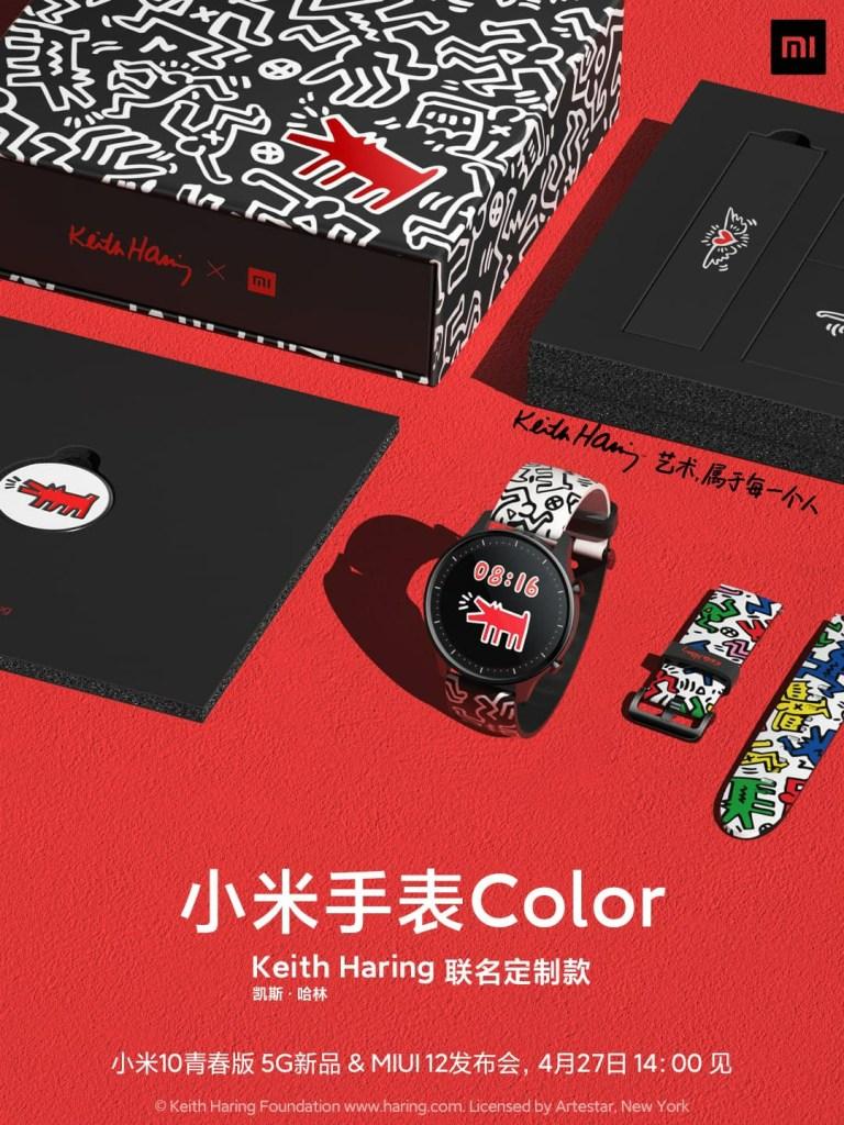 Xiaomi Watch Color Keith Haring Edition
