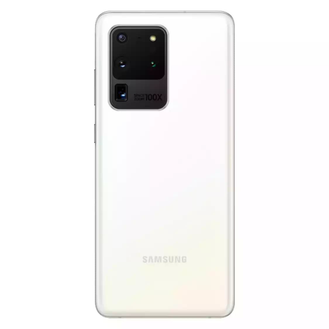 Galaxy S20 Ultra White Color Official Rendering