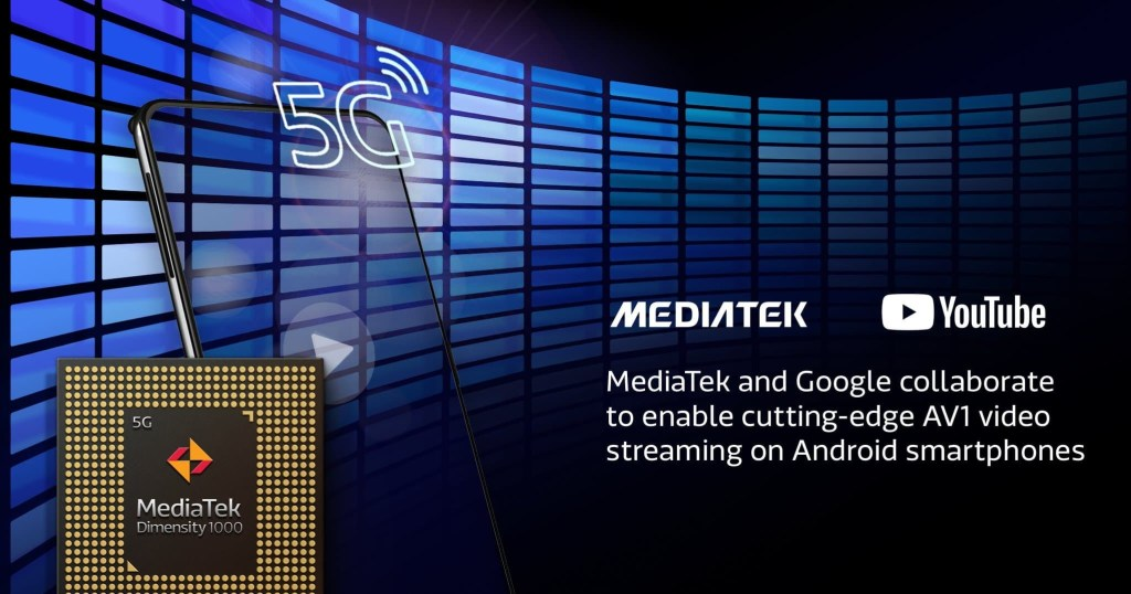 MediaTek And Google Collaboration to enable AV1 Video Streaming on YouTube
