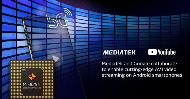 MediaTek And Google Collaboration to enable AV1 Video Streaming on YouTube