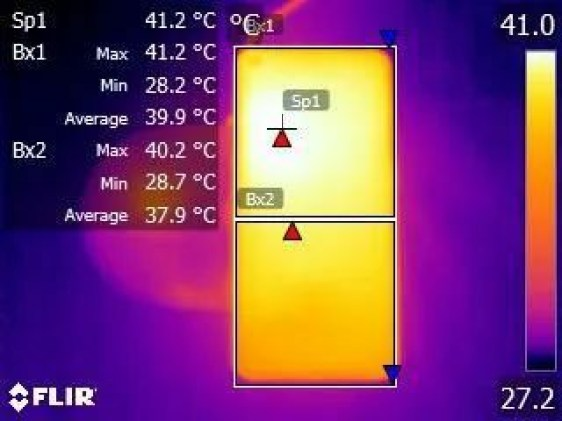 Oppo AirVOOC Review - Temperature During Charging