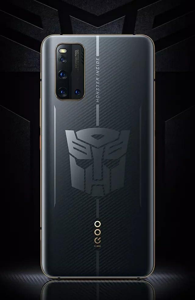 iQOO 3 Transformers Edition