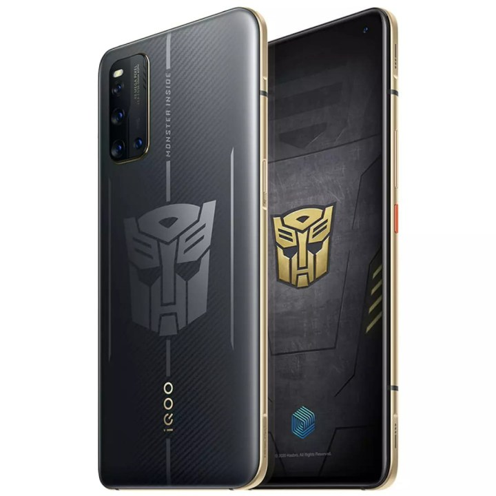 iQOO 3 Transformers Edition release date