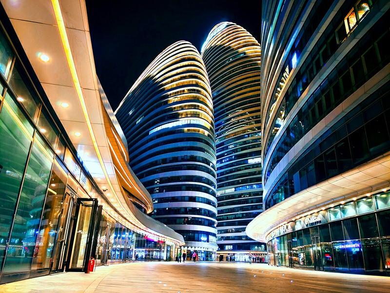 Vivo X50 Pro Camera Sample - Proof of the night view of Weiyuntai
