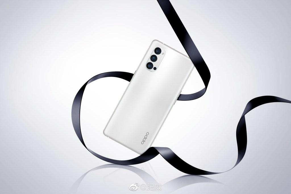 Oppo Reno4 Pro white color