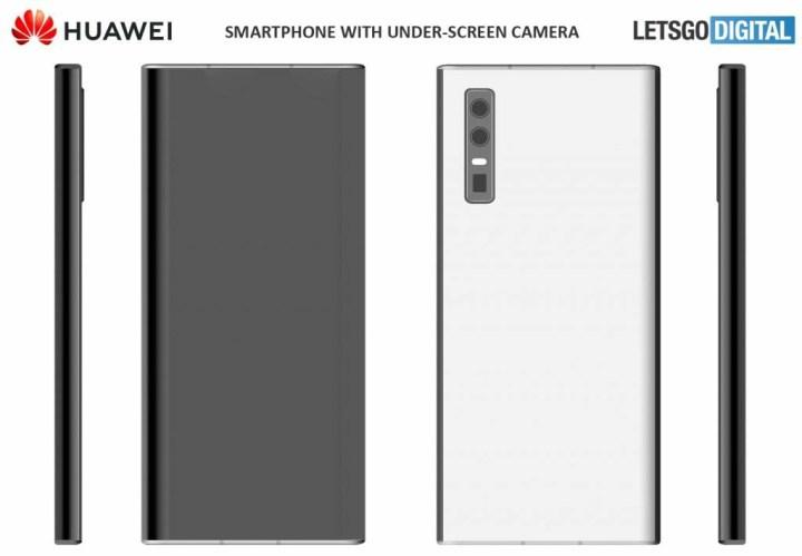 Huawei Under Screen-camera Phone Rendering