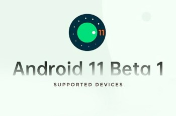 Android 11 Beta Supported Device List