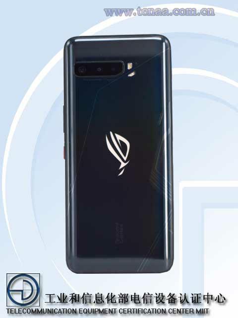 Asus Rog Phone 3 Appearance, MIIT id Photos