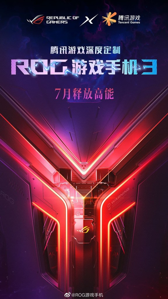ROG Phone 3 release with Tencent's Deep Customisation