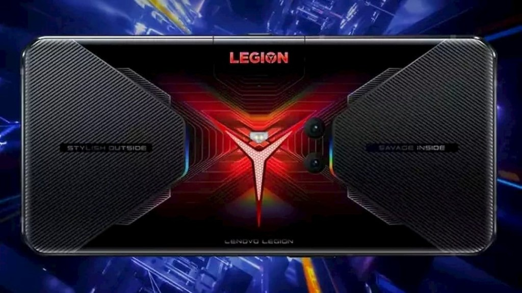 Legion Gaming Phone with UFS 3.1 storage with LPDDR5 RAM