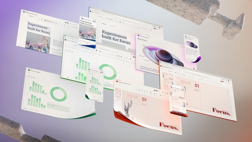 Microsoft Office 365 Future UI