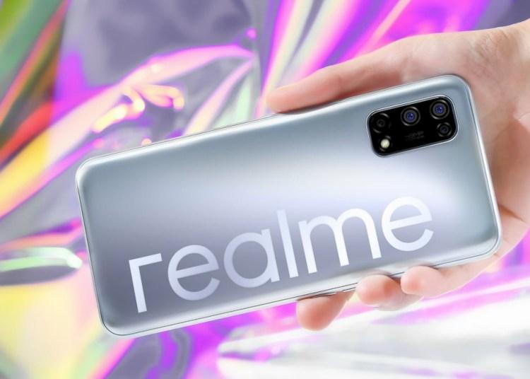 Realme V5 Official Rendering