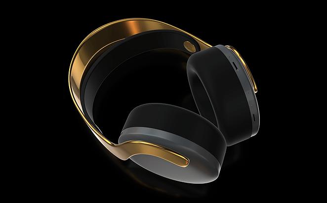 Sony PlayStation 5 Headphone Gold Edition