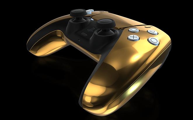 Sony PlayStation 5 DuslSense Controller Gold Edition