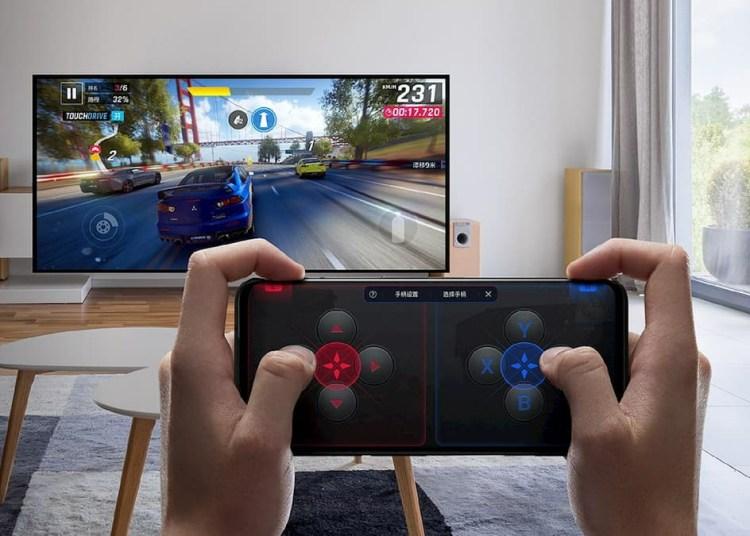 Red Magic 5S as Virtual Controller