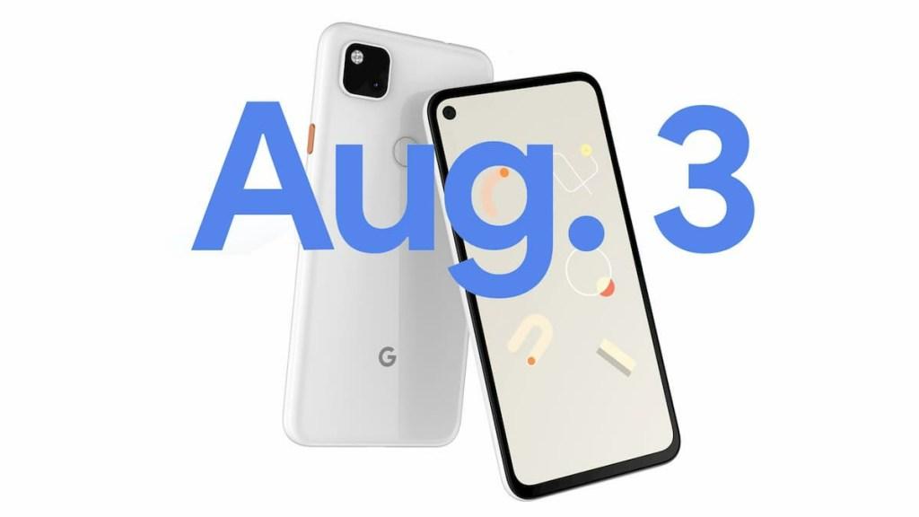 Google Pixel 4a Release Date