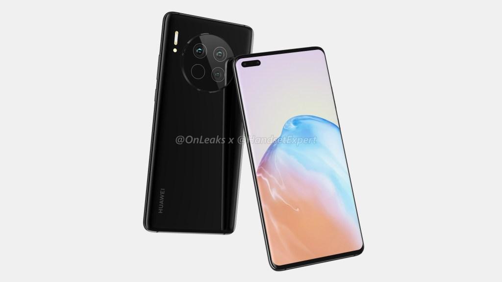 Huawei Mate 40 Renderings