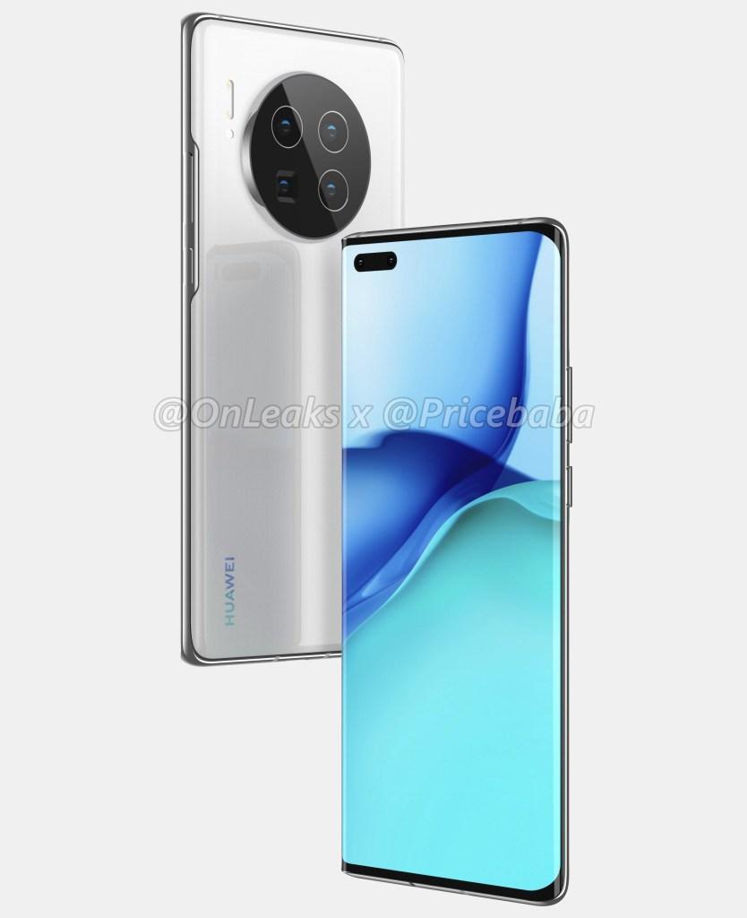 Huawei Mate 40 Pro Renderings