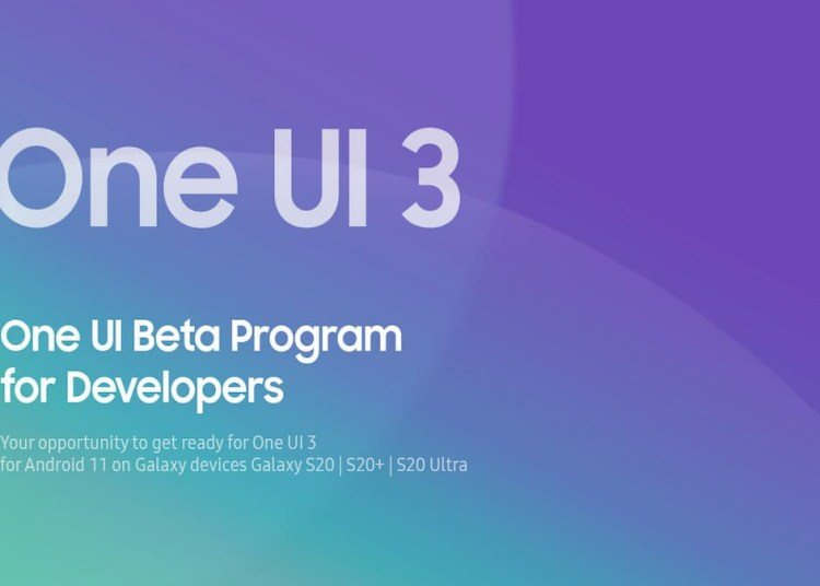 Samsung One UI 3 beta, Samsung OneUI 3.0 beta