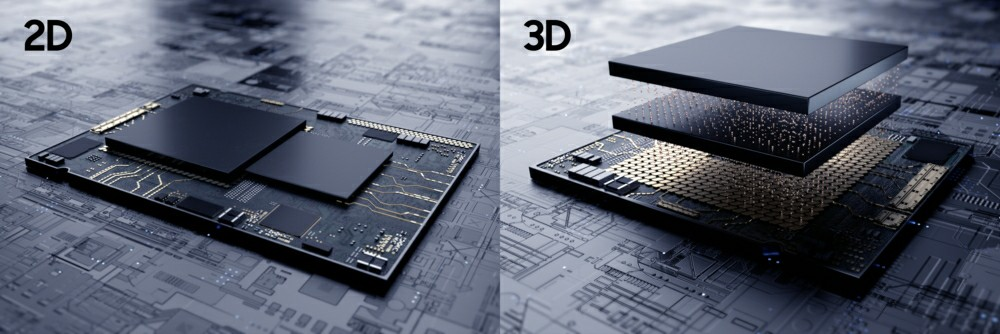 Samsung X-Cube 3D IC packaging technology